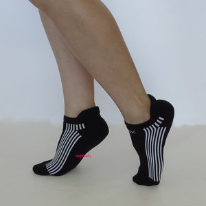 VSX Sexy Low Show Socks Black